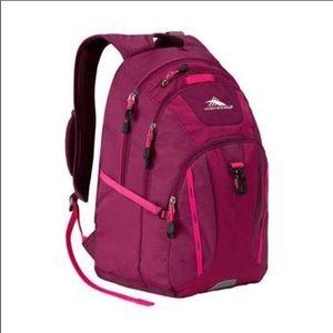 High Sierra Pink Riprap Lifestyle Backpack